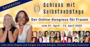 kostenloser Online Kongress: Schluss mit Selbstsabotage 17032020 transformationsfabrik banner 1200x628 facebook post